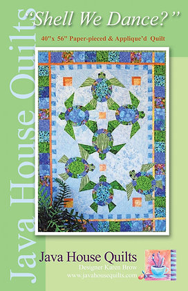 Shell We Dance? by Java House Quilts
