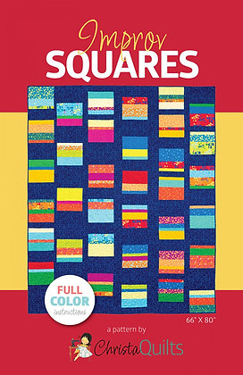 Improv Squares by Christa Quilts