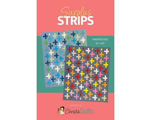 Surplus Strips by Christa Quilts
