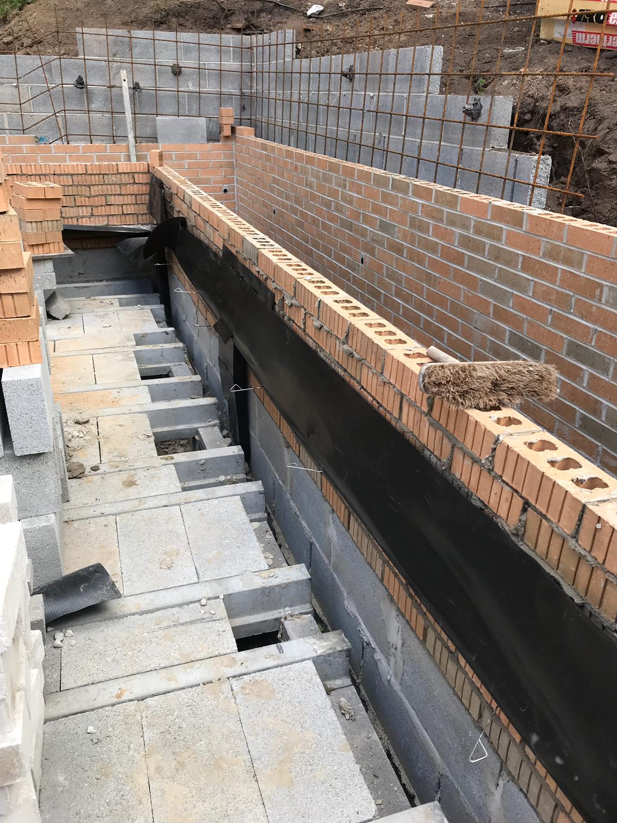Super-structure brickwork