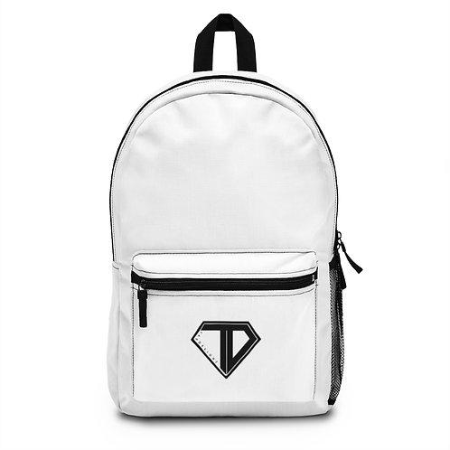 White TD Backpack
