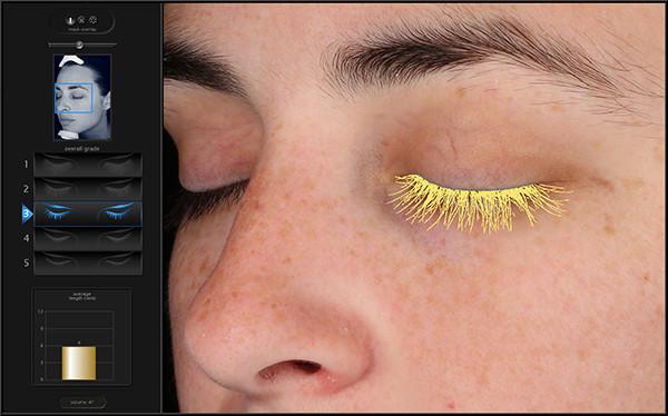 eyelash analysis