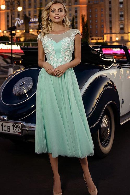 Очаровательное коктейльное платье Арт.503