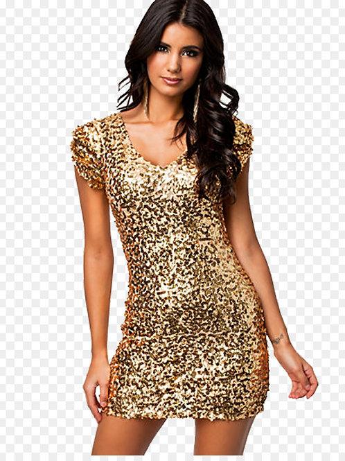 Блестящее платье Арт.687