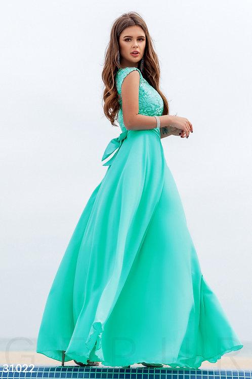 Вечернее платье из premium класса из шелка Арт.410Б