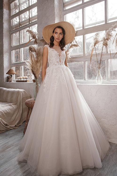 Свадебное платье  из premium класса Арт.019