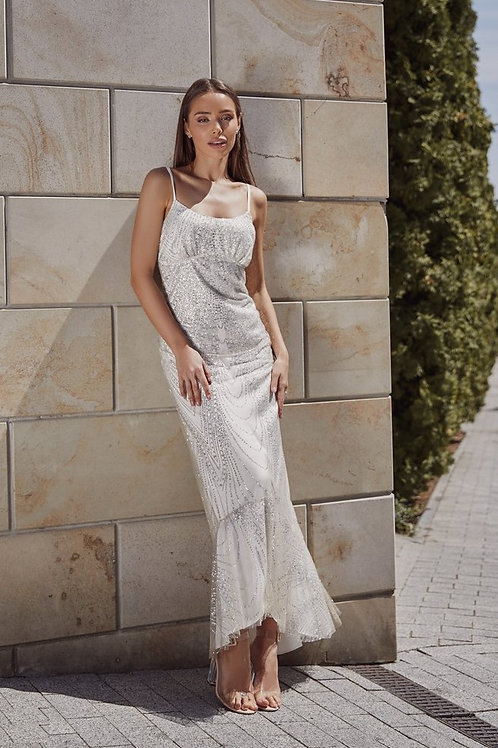 Легкое мерцающее свадебное платье Арт. 078