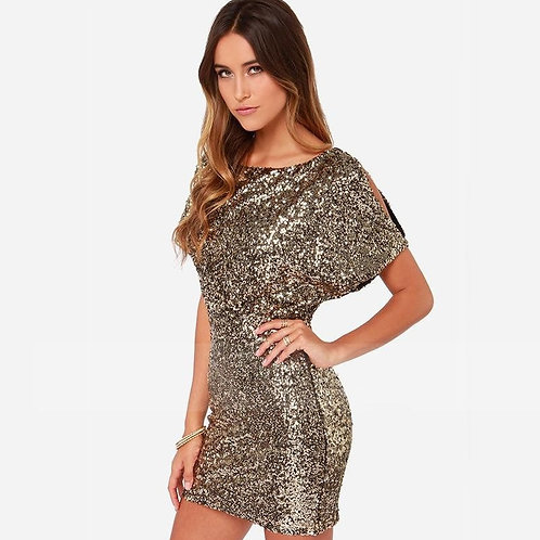Блестящее платье Арт.603