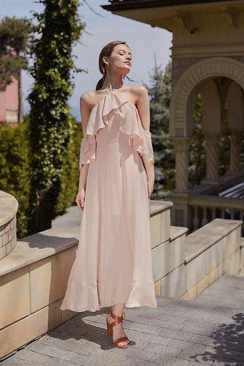 Платье- макси из легкого шифона Арт. 531