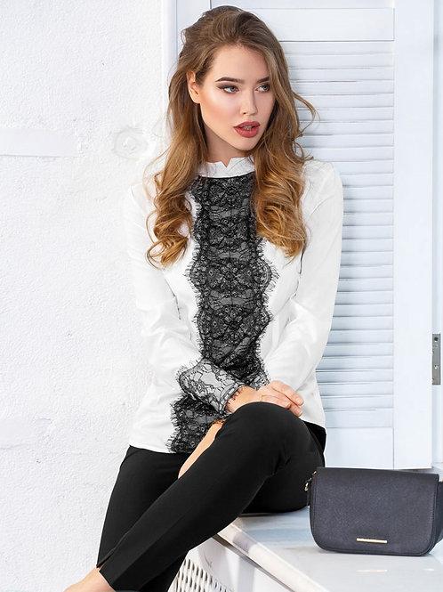 Легкая офисная блуза