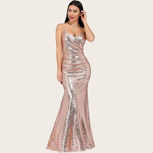 Блестящее платье Арт.682