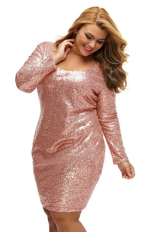 Блестящее платье Арт.640