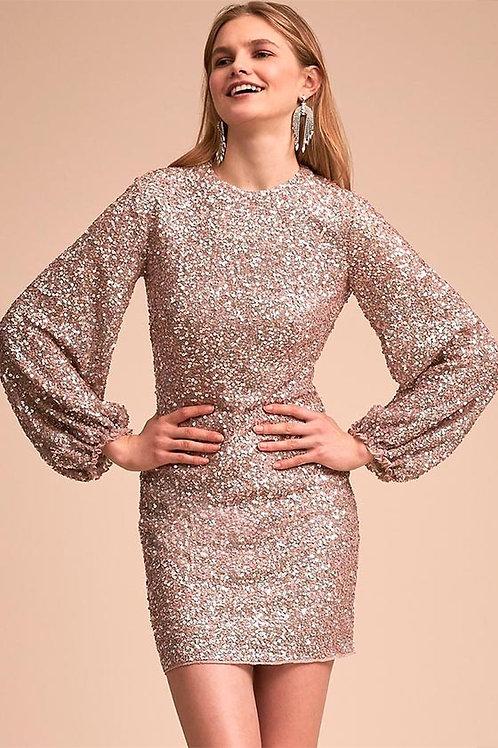Мерцающее платье Арт.628