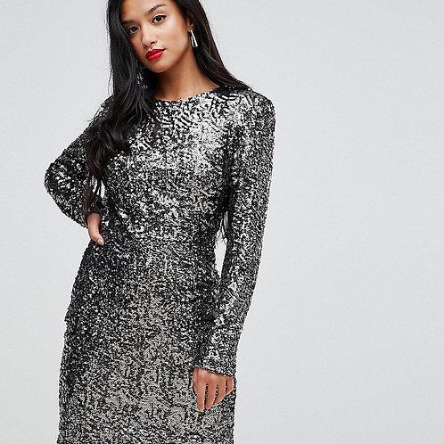 Блестящее платье Арт.619