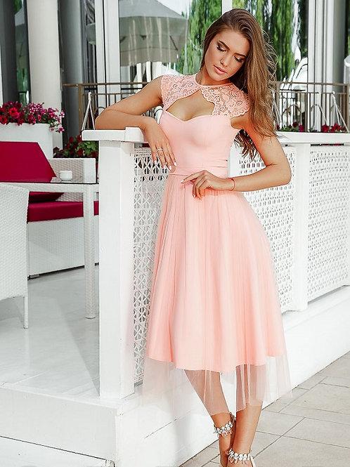 Вечернее платье-миди Арт.026