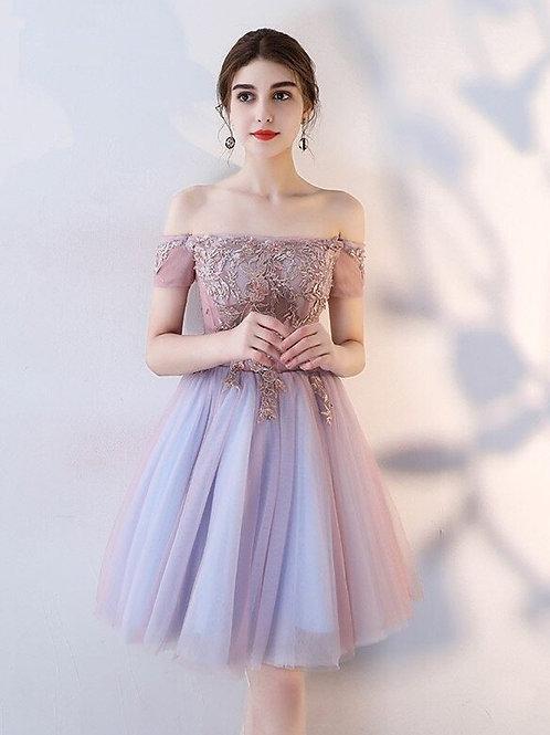 Короткое вечернее платье из premium класса Арт.518