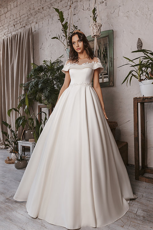 Пышное свадебное платье Арт.026Б