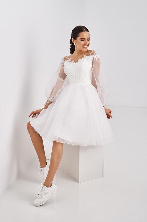 Короткое свадебное платье Арт. 068