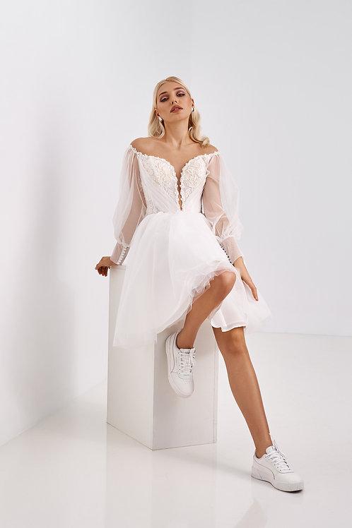 Короткое свадебное платье Арт. 060