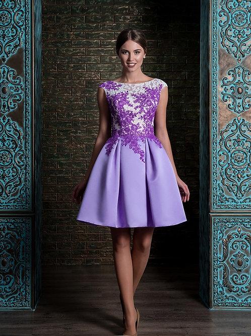 Короткое вечернее платье из premium класса Арт.519