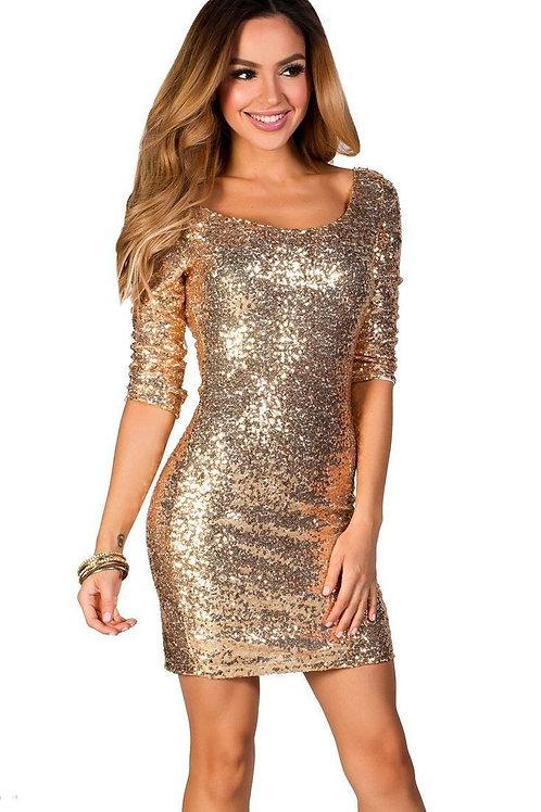 Блестящее платье Арт.618