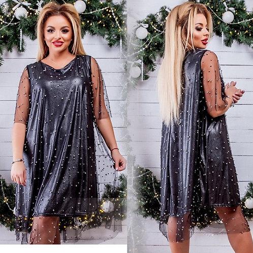 Мерцающее платье Арт.681