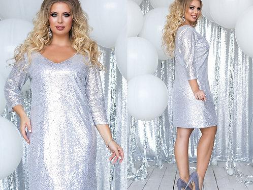 Блестящее платье Арт.637