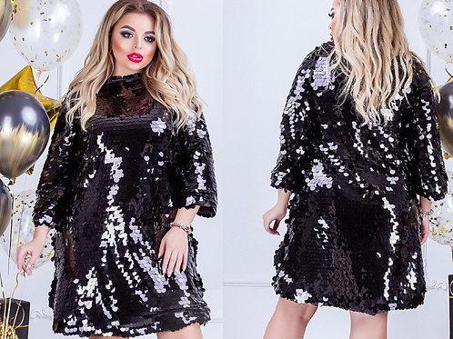 Блестящее платье Арт.665