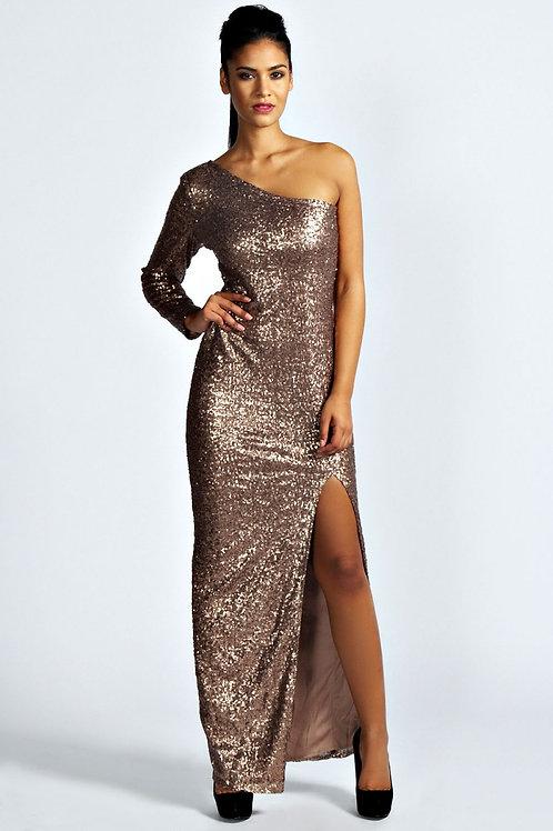 Блестящее платье Арт.673