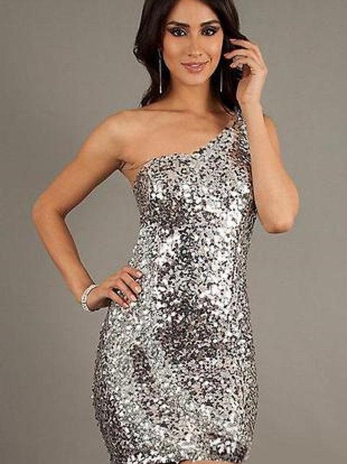 Блестящее платье Арт.621