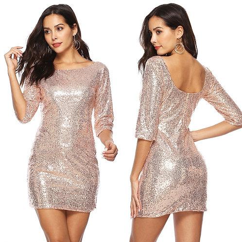 Блестящее платье Арт.601