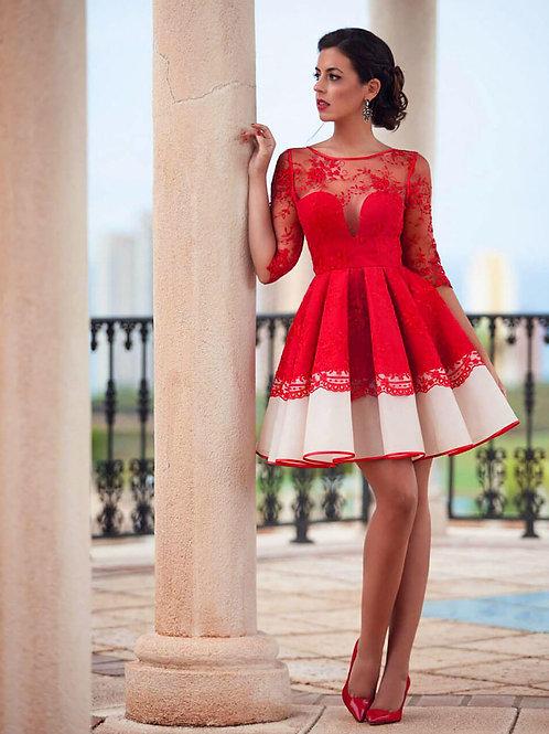 Короткое вечернее платье из premium класса Арт.520