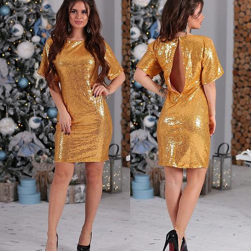 Блестящее платье Арт.612