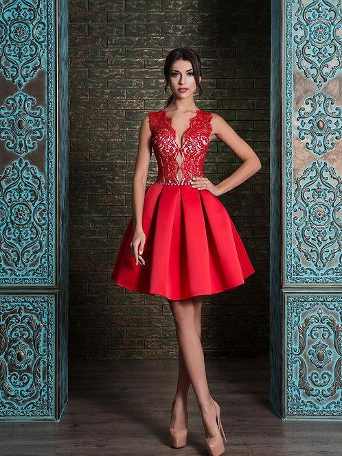 Короткое вечернее платье из premium класса Арт.522