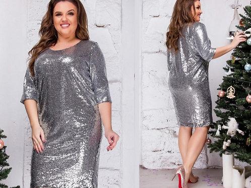 Блестящее платье Арт.642