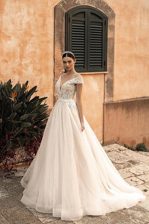Пышное свадебное платье Арт.025Б