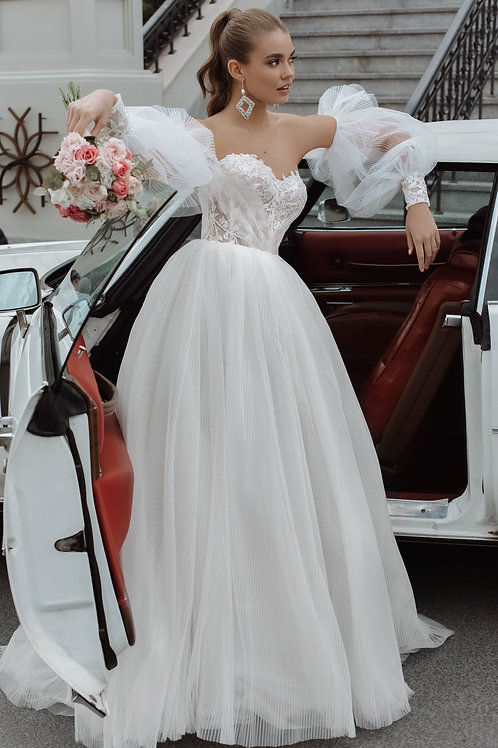 Пышное свадебное платье Арт.020Б