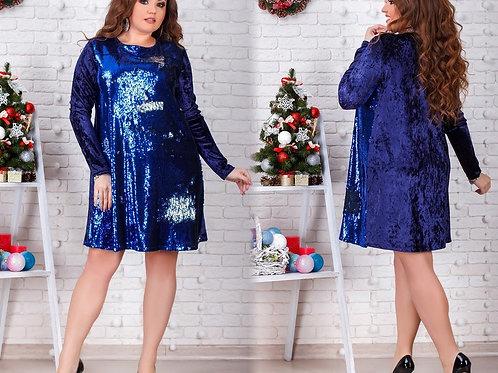 Блестящее платье Арт.647