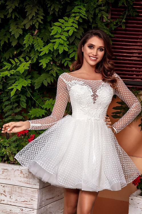 Короткое свадебное платье Арт. 076