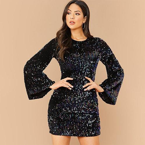 Мерцающее платье Арт.626