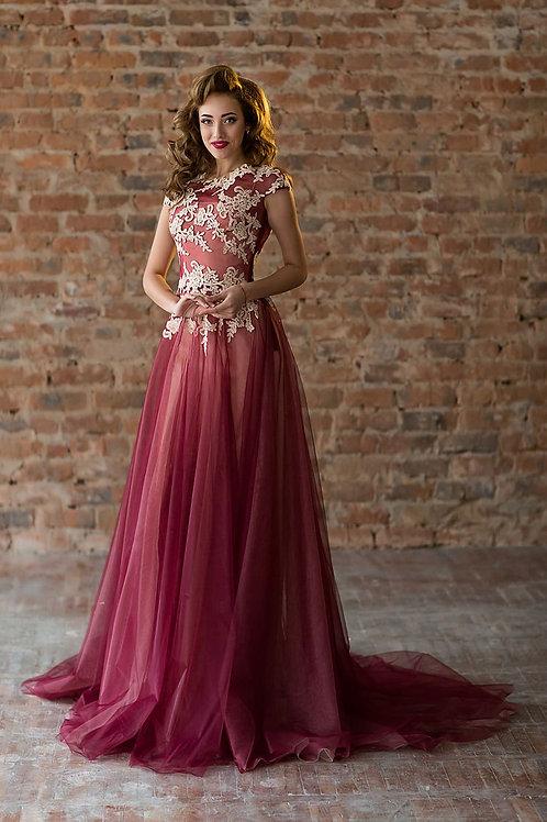 Вечернее платье из premium класса Арт. 266