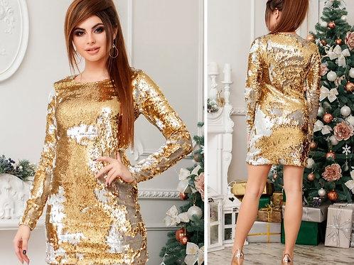 Мерцающее платье Арт.608