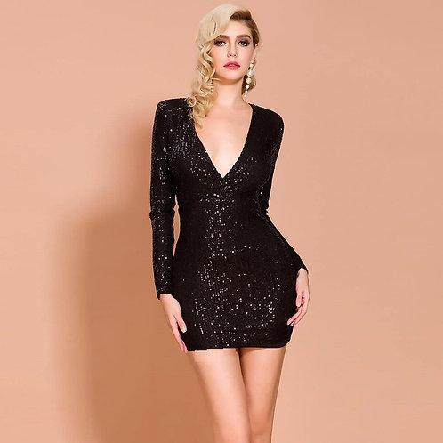 Блестящее платье Арт.613
