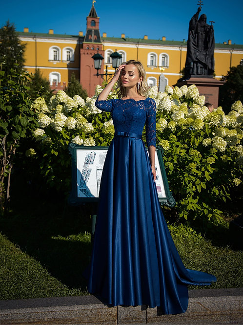 Вечернее платье из premium класса Арт. 275Б
