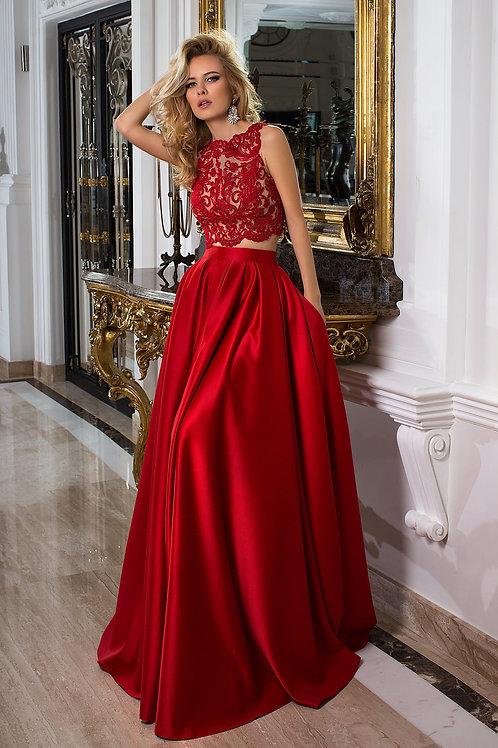 Раздельное вечернее платье из premium класса Арт. 1028