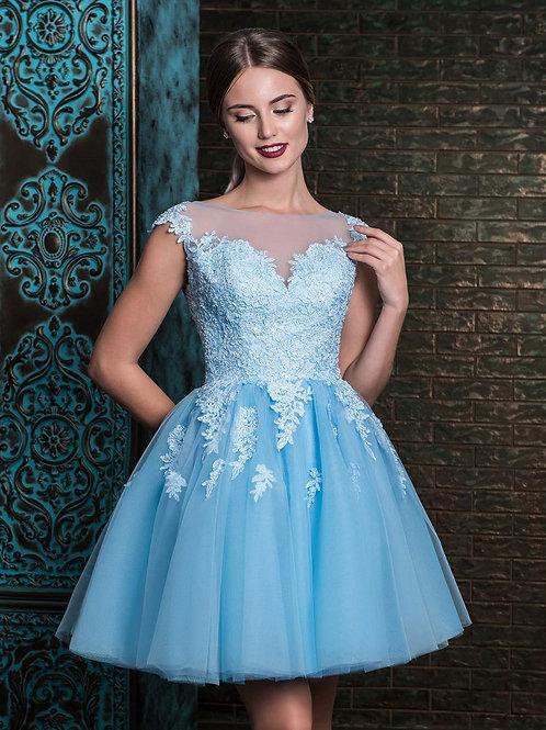Очаровательное коктейльное платье Арт. 521