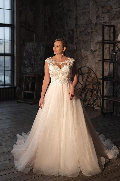 Пышное свадебное платье  Арт.035