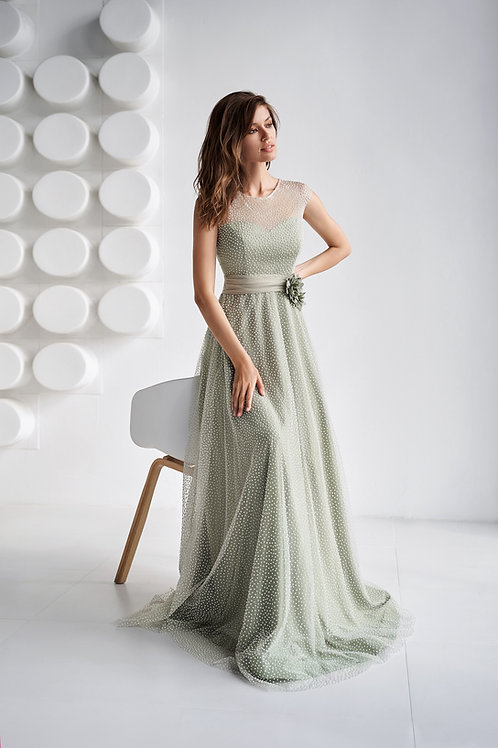 Вечернее платье из premium класса Арт. 551