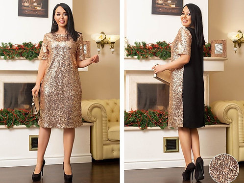 Блестящее платье Арт.645