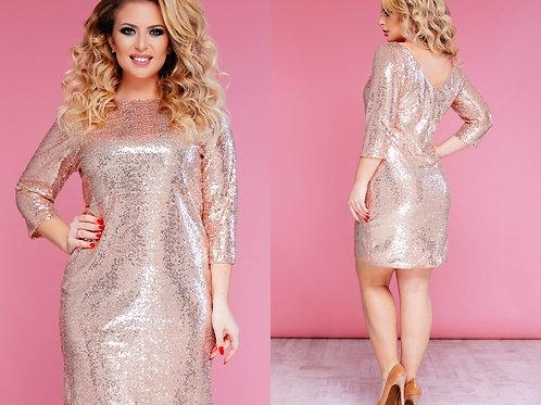 Блестящее платье Арт.633
